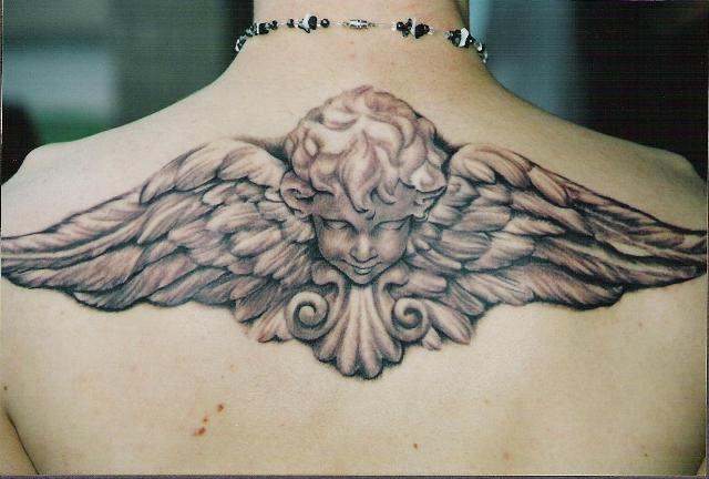 Guardian Angel Tattoo Designs for Men