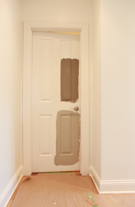 rattlebridge farm dark interior doors to paint or not to. Black Bedroom Furniture Sets. Home Design Ideas