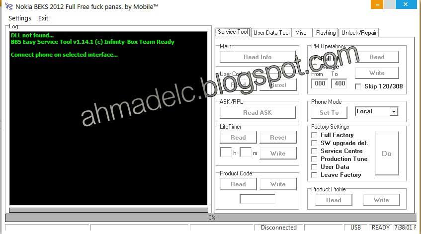 Cara Flashing Hp Nokia Tanpa Box Flasher