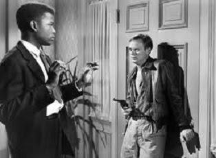 """""""No Way Out"""" (1950) - Sidney Poitier, Richard Widmark"""