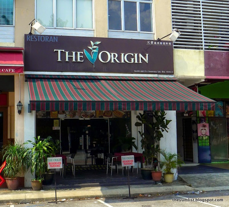 The Origin, Vegetarian Restaurant, Ampang