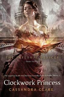 book cover of Clockwork Princess by Cassandra Clare