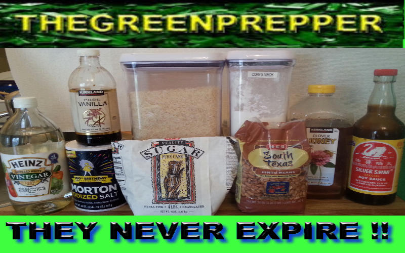 The Green Prepper 12 Food Storage Items That Will Never