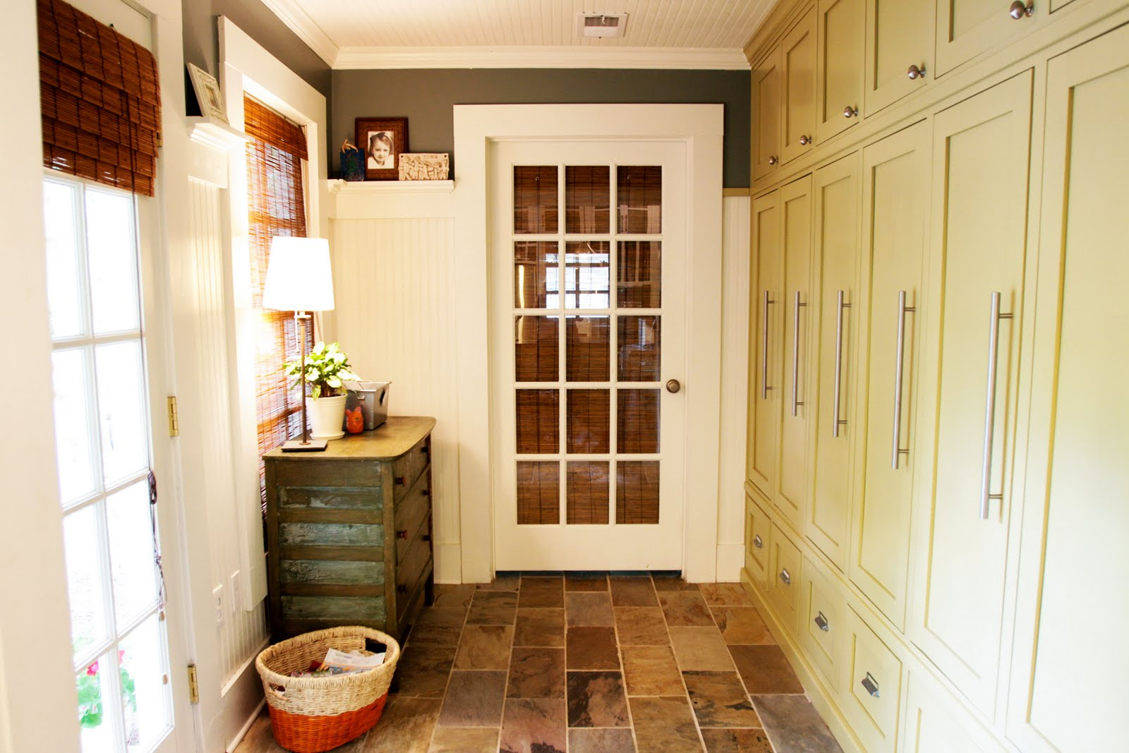 Open house mudroom for Farmhouse plans with mudroom