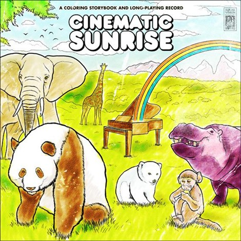 Cinematic Sunrise A Coloring Storybook And Long Playing Records