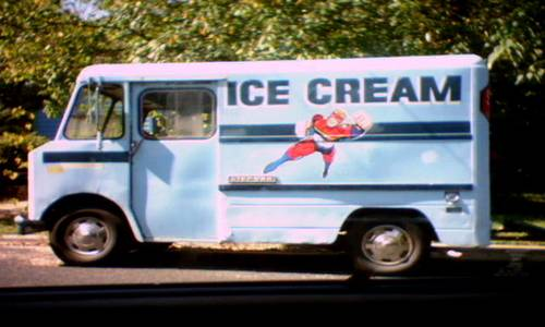 driving an ice cream truck