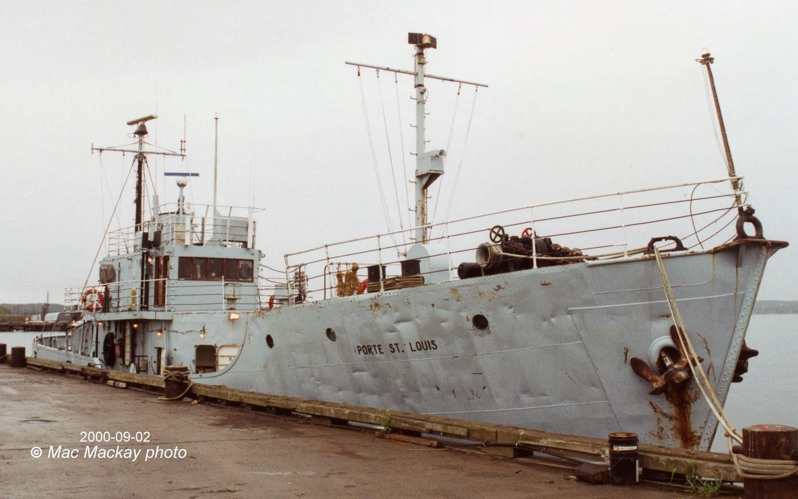 Porte class gate vessels for Porte st louis