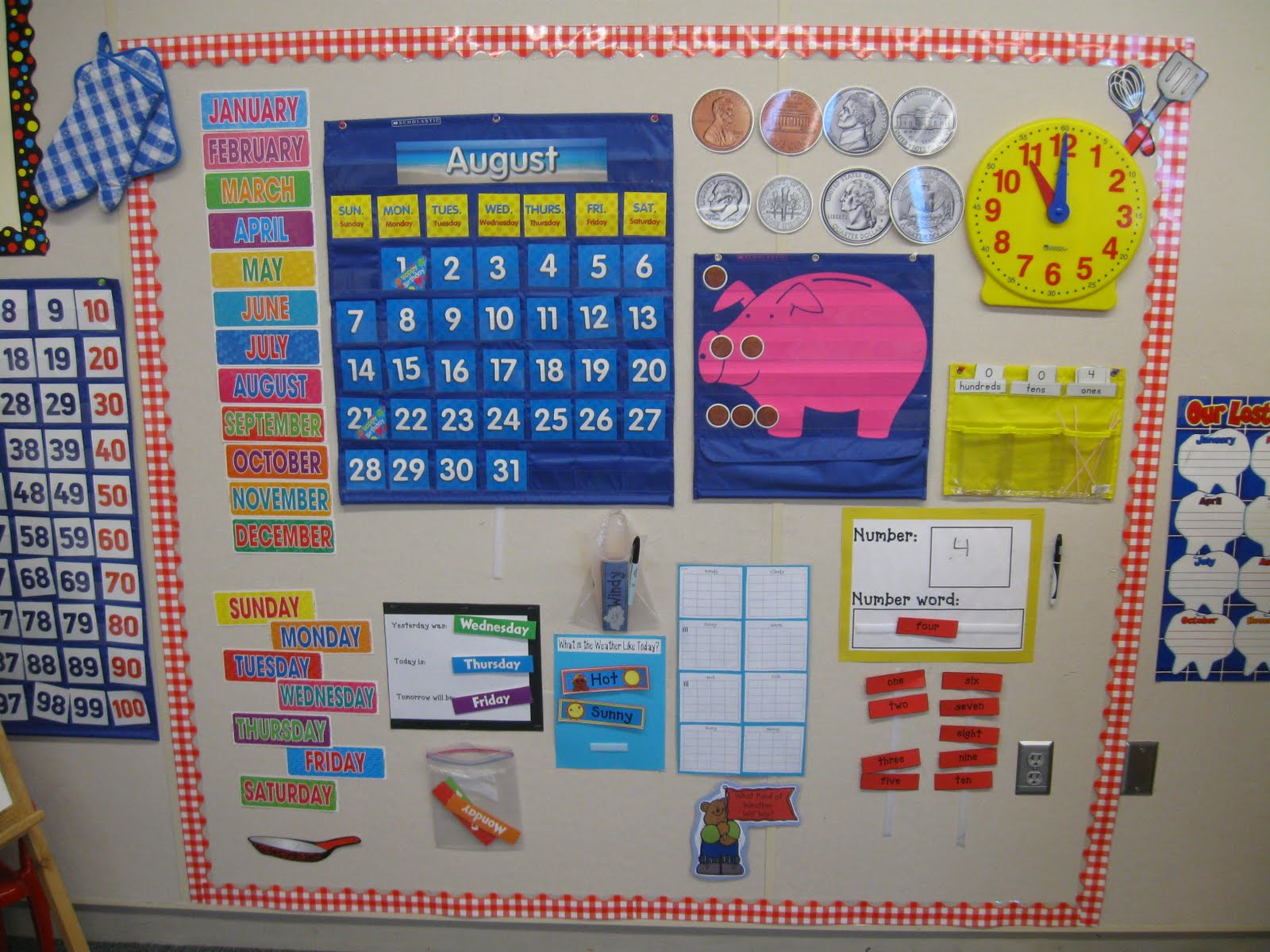 Kindergarten Calendar Math Ideas : What the teacher wants s cookin in mrs smith