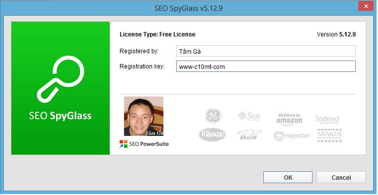 SEO SpyGlass version 5.12.9 Free License
