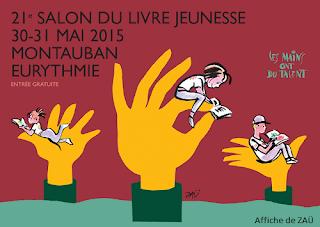 Salon du livre jeunesse Eurythmie de Montauban - 30 et 31 mai 2015