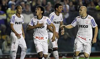 Corinthians se robó un punto de la Bombonera