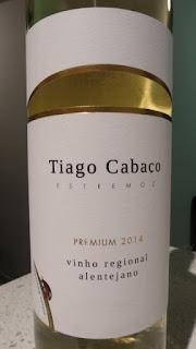 Tiago Cabaço .com Premium White 2014 - Vinho Regional Alentejano, Portugal (88 pts)