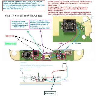 Trick Nokia 1110 lampu Solutions