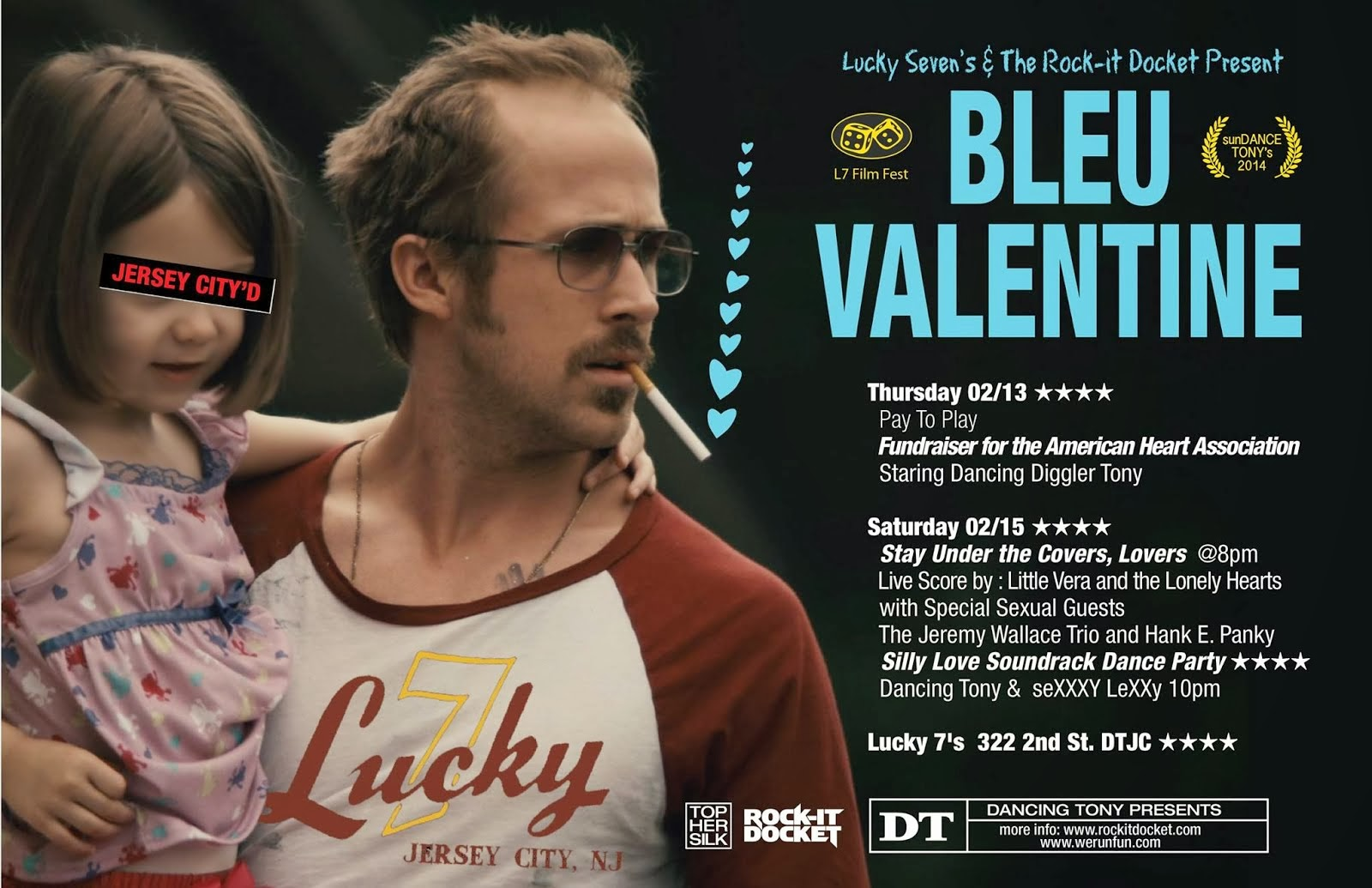 Bleu Valentine Weekend at Lucky 7's