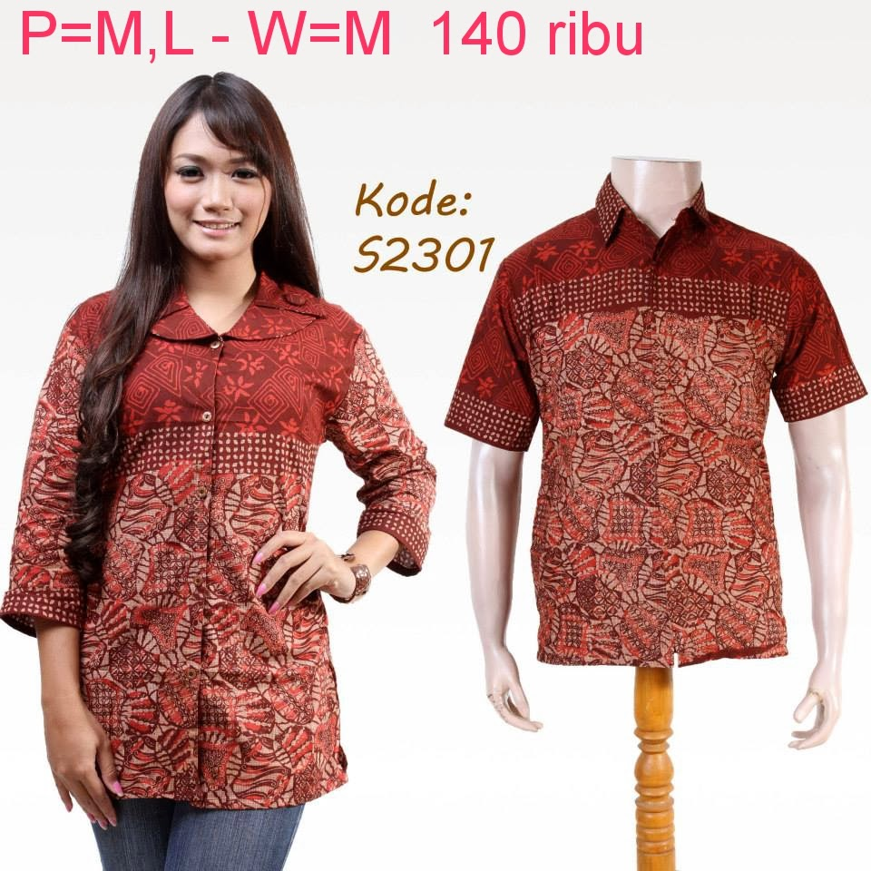 Baju Batik Modern Baju Batik Modern Asli Murah
