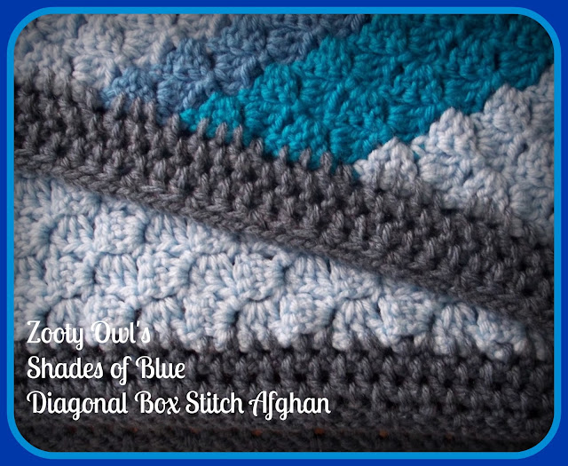 Box Stitch Crochet Afghan