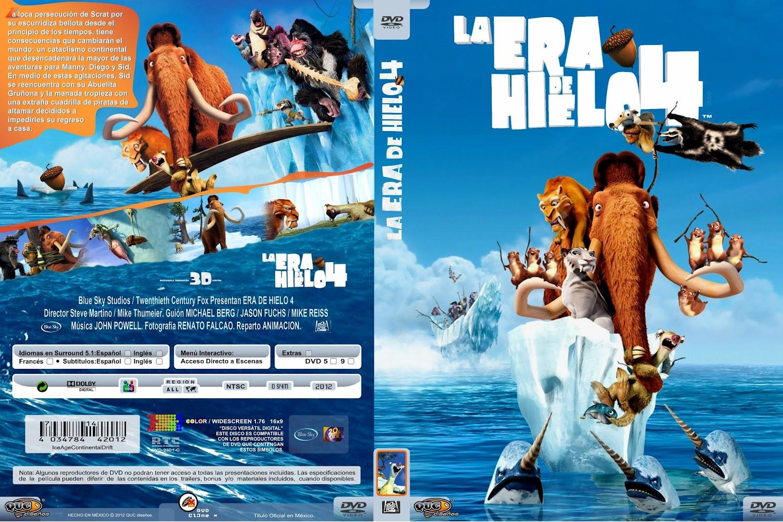 LA ERA DE HIELO 4 (2012) - La formación de los continentes