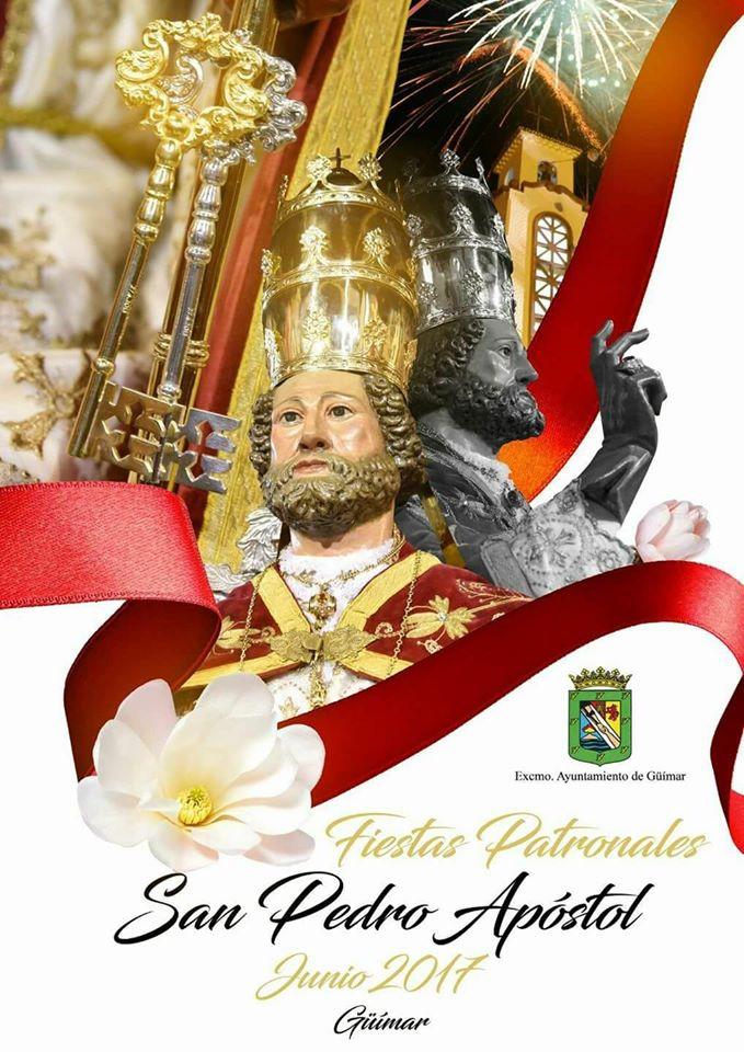 Programa de las Fiestas patronales en honor a San Pedro Apóstol. Pincha en el cartel
