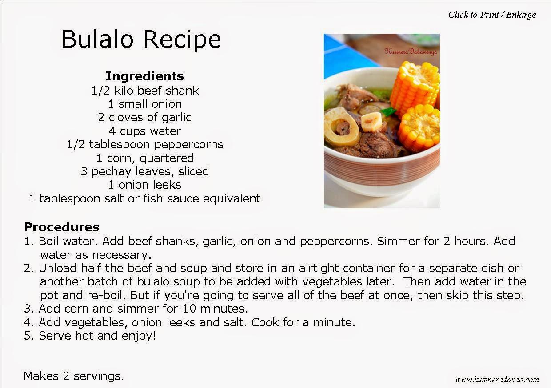 Bulalo Recipe   KUSINERA DAVAO