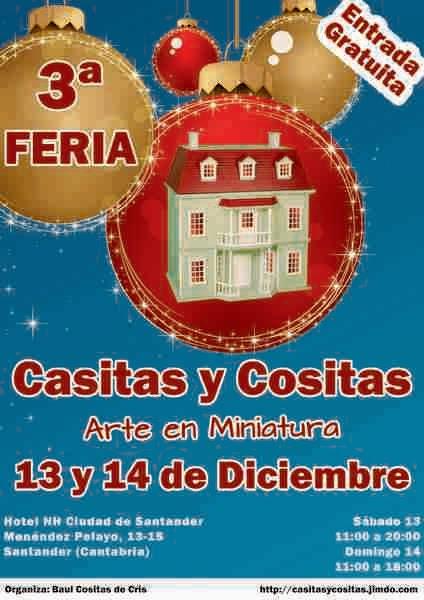 3ª FERIA CASITAS Y COSITAS EN SANTANDER