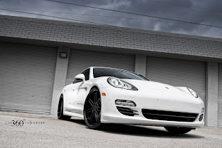 Porsche Panorama Awesome HD Wallpaper