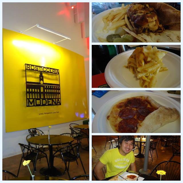 Rosticceria Modena Restaurant at Ferrari World, Yas Island Abu Dhabi