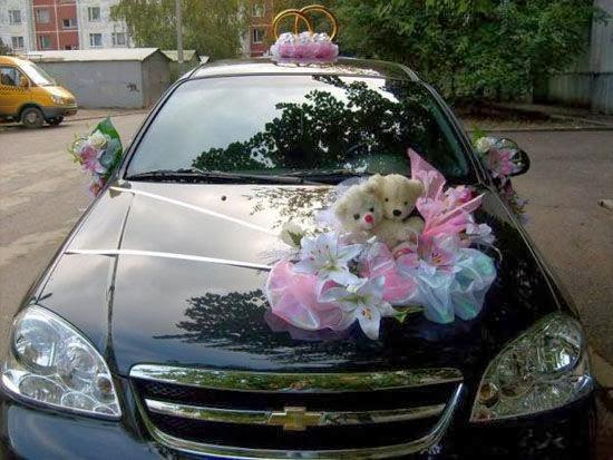 Wedding Car Flower Decoration Bridal Requirements Wedding Car Flower