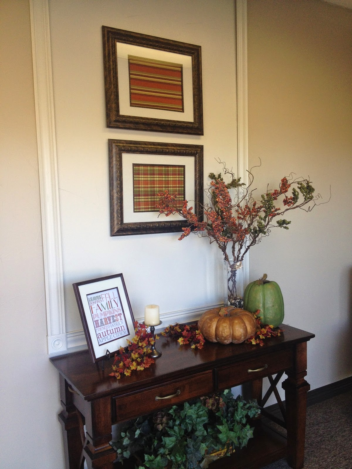 Church Foyer Design : Simple fall decor for your church foyer a pastor s wife