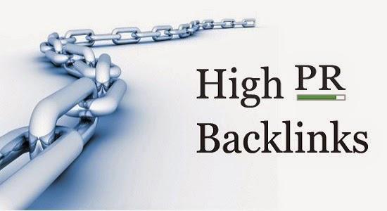 Backlink trang PR cao chất lượng
