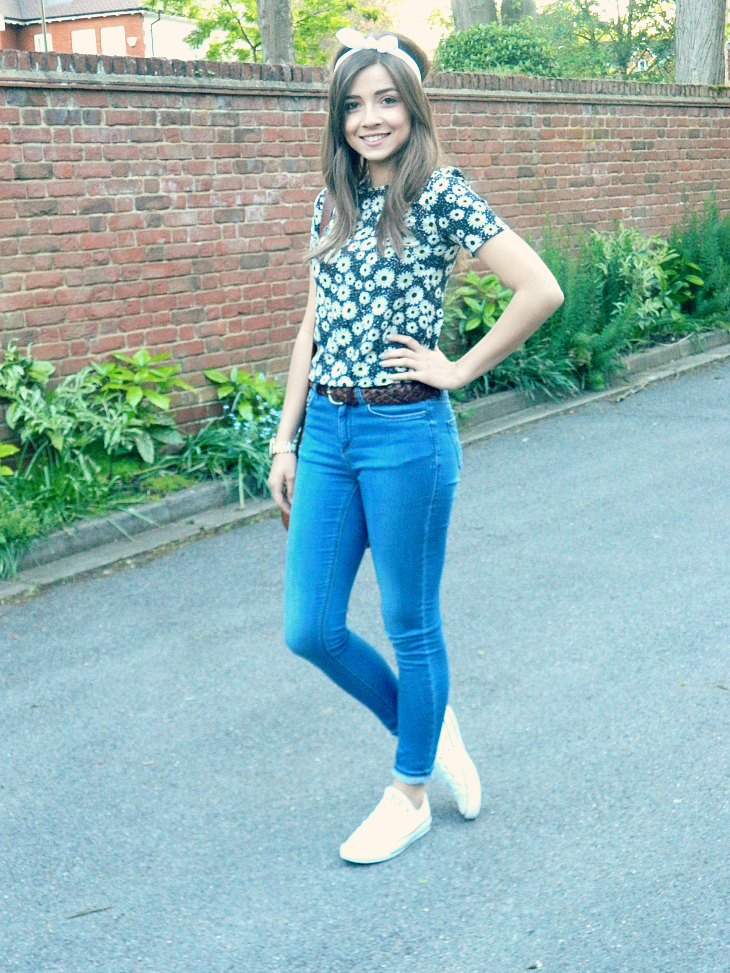 Love From Lisa Fashion Casual Floral Tee