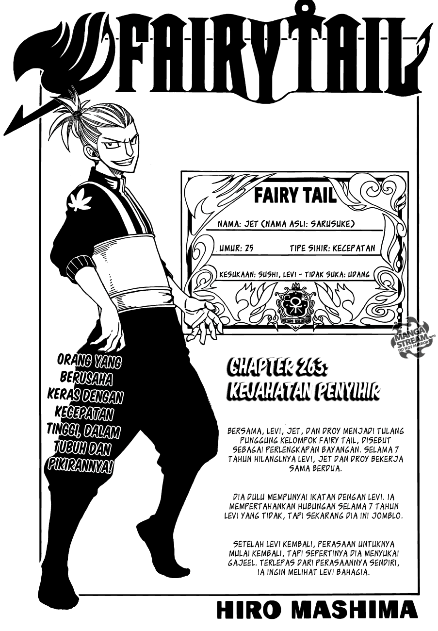 Komik manga fairy tail 263 03 shounen manga fairy tail