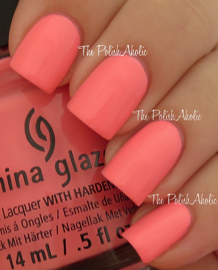The PolishAholic: China Glaze Summer 2013 Sunsational Collection ...
