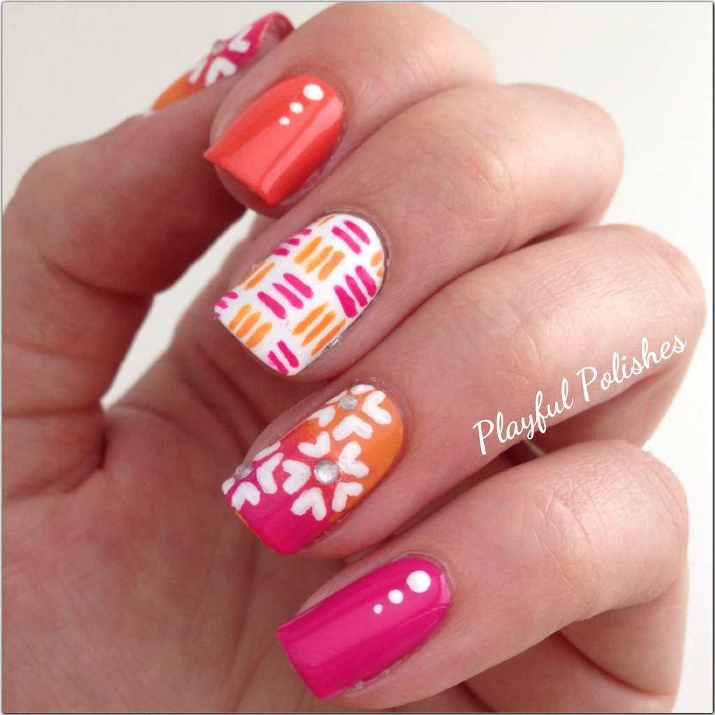 The Exciting Cute bug nail art designs Pics