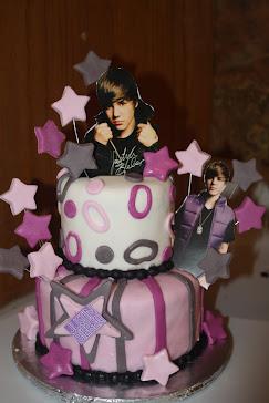 Justin Bieber cake #2