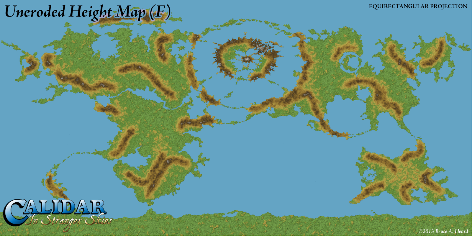 The Cartography of Thorfinn Tait Worldbuilding Scale