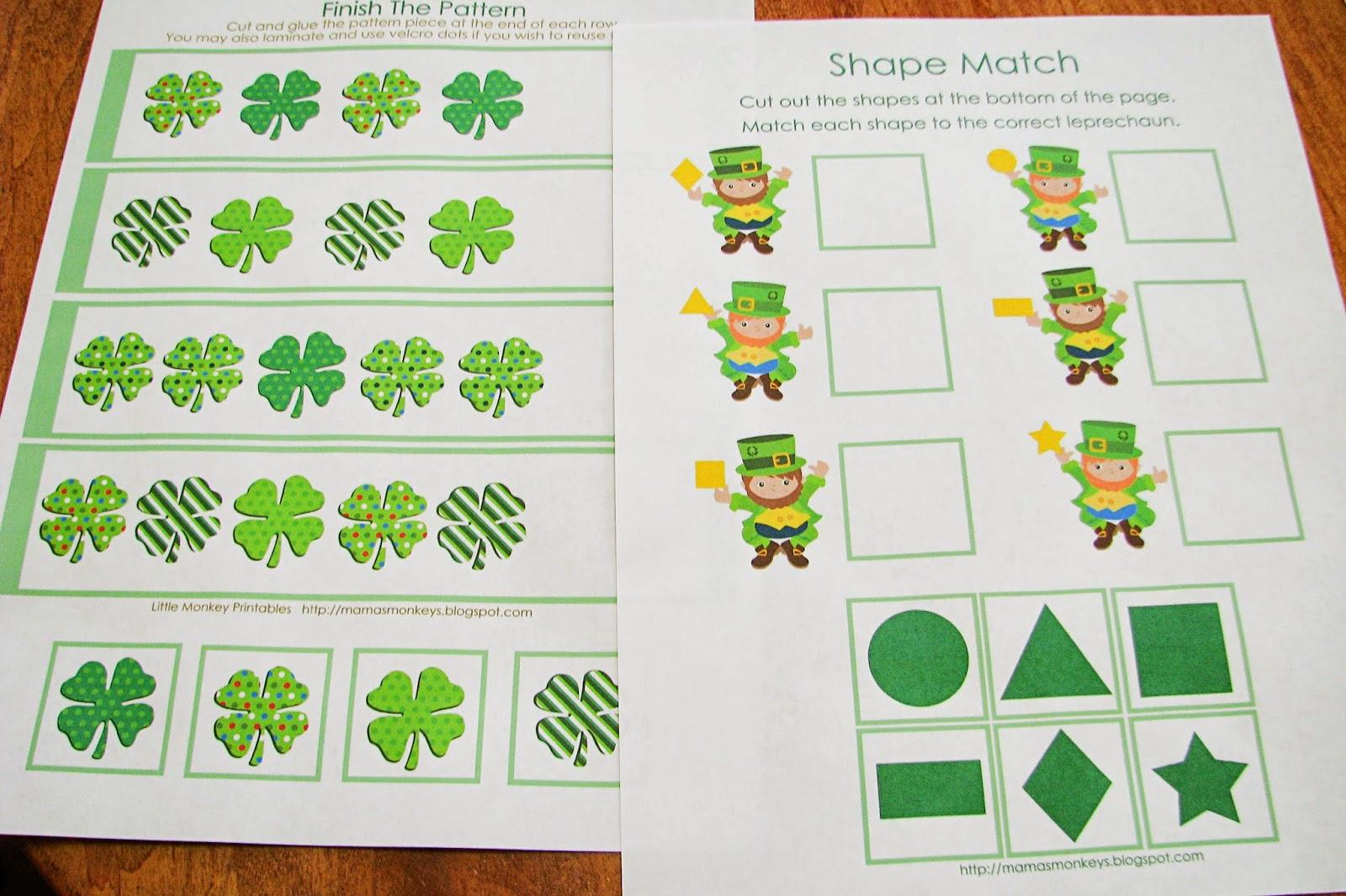 Mommy\'s Little Helper: Letter G/Green Preschool Theme