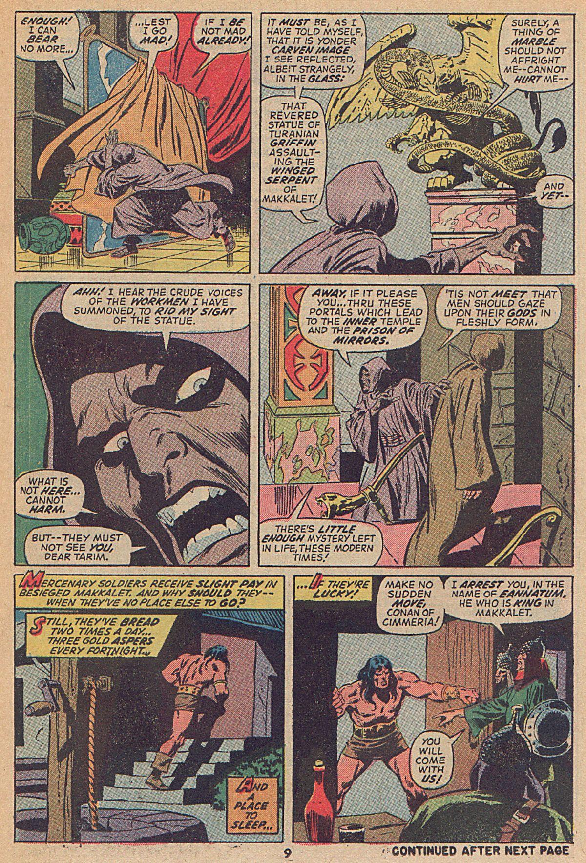 Conan the Barbarian (1970) Issue #25 #37 - English 8