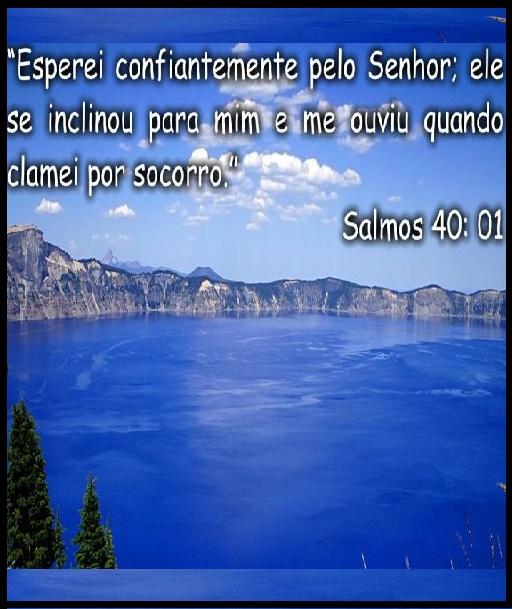 A PALAVRA DE DEUS SALMO 40 V1