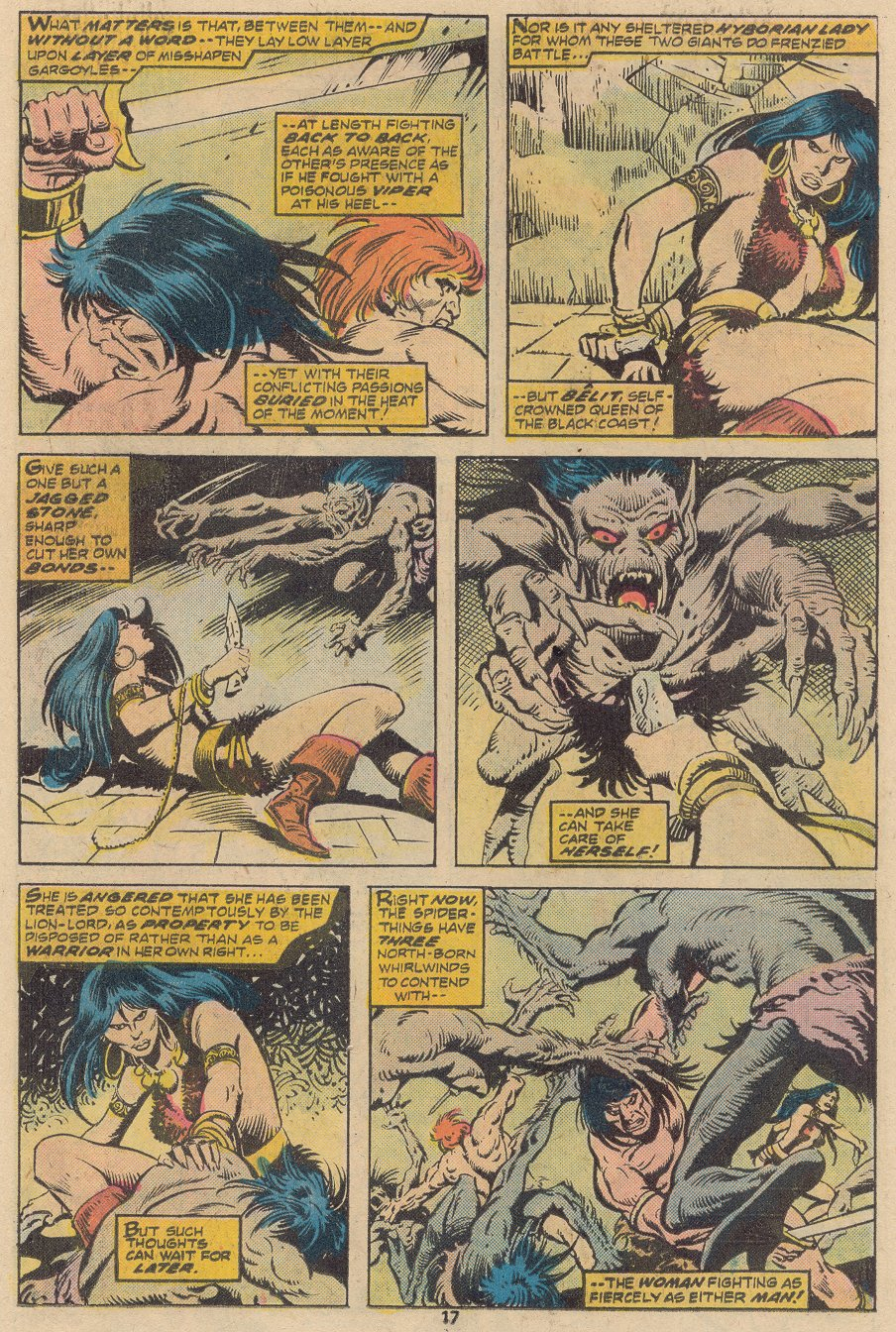 Conan the Barbarian (1970) Issue #63 #75 - English 12