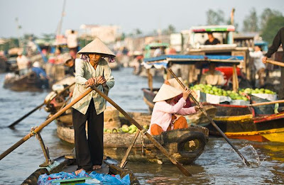 Can Tho travel and visiting Cai Rang Floating Market