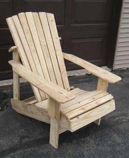 sillón con palets