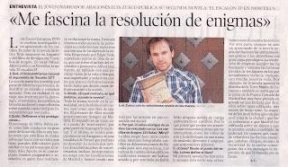 Entrevista Heraldo de Aragón