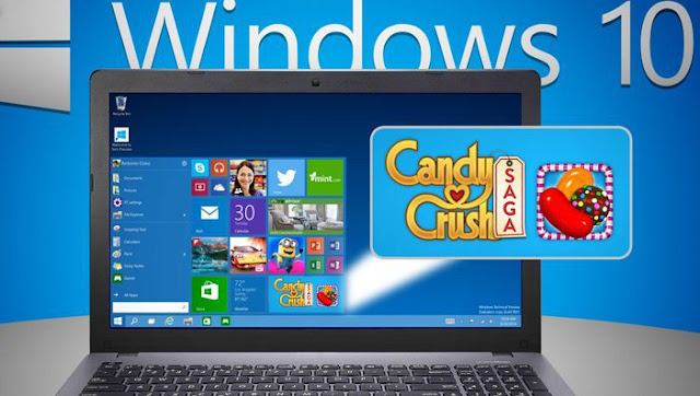 CANDY CRUSH SAGA VENDRA INSTALADO EN WINDOWS 10