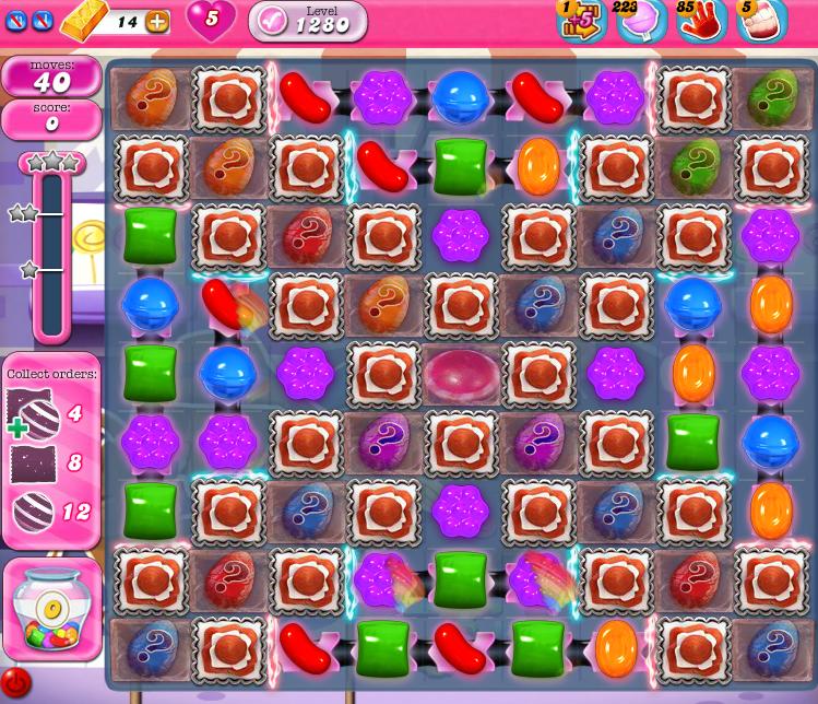 Candy Crush Saga 1280