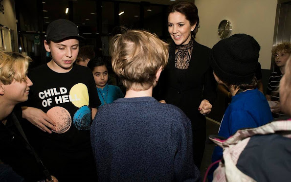 Crown Princess Mary of Denmark attended the annual DR Ultra Gala Show  with the Mary Foundation