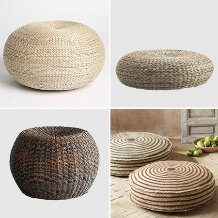 Delicious Spaces High Low Project Pouf Love