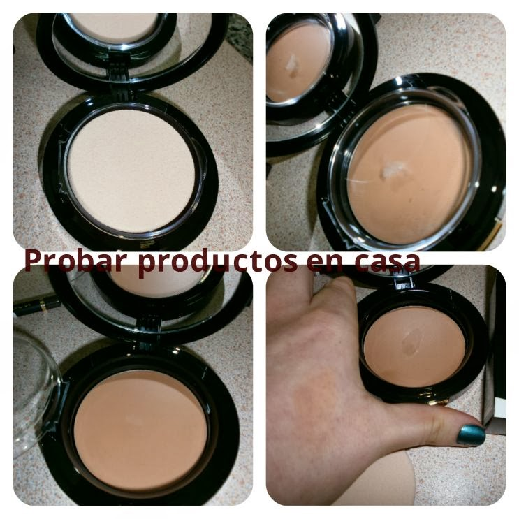 Maquillaje compacto d'Orleac