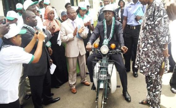 the first motorcycle produced in Nigeria
