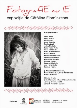 Vernisaj expoziţie Cătălina Flamînzeanu: 23 iunie ora 18:00, Muzeul Ţăranului Român