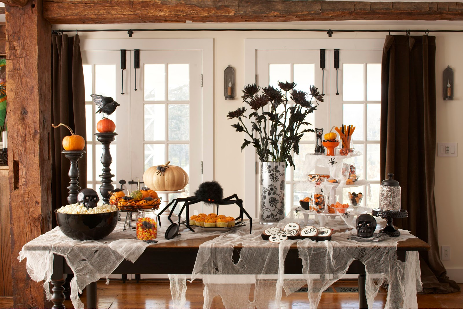 Karin Lidbeck: Clever Halloween party ideas! Easy last minute DIY.